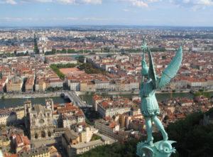 Один из крупнейших городов Франции, Лион